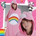 Kigurumi Care Bears Rainbow Pink A/W