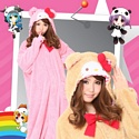 Kigurumi Hello Kitty Nounours A/W